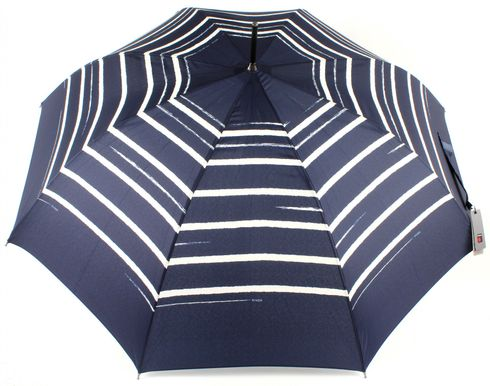 Knirps Stick Long AC Stripe Art Navy
