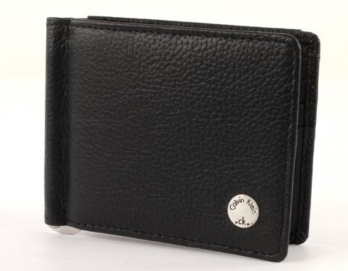Calvin Klein Seal Moneyclip 8 Black
