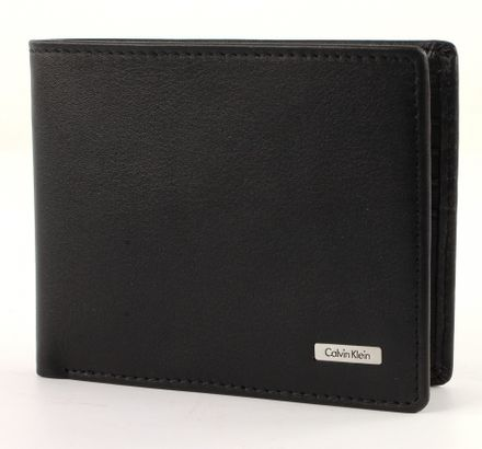 Calvin Klein Rail Billfold 10 Black