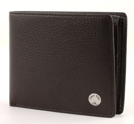 Calvin Klein Seal Billfold 10 Turkish Coffee