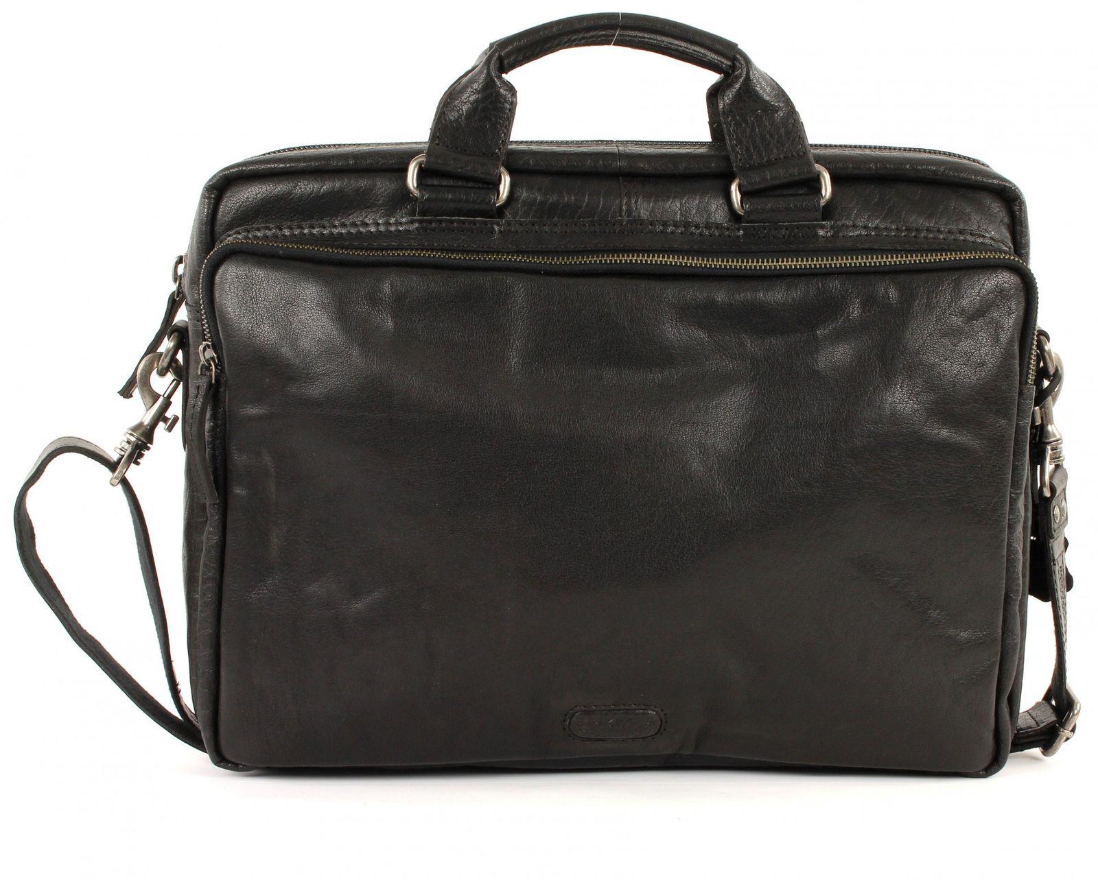 SPIKES & SPARROW Bronco M Briefcase Black