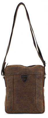 strellson Hunter Shoulder Bag L -Dark Brown