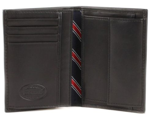 TOMMY HILFIGER Eton Wallet N / S with Coin Pocket Black