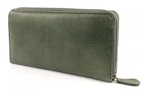 FREDsBRUDER Brush Leather BB Börse Green