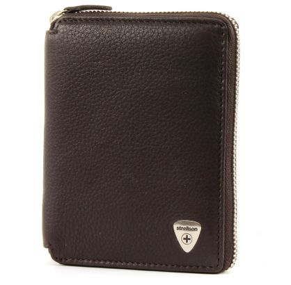 strellson Harrison BillFold Z6 Dark Brown