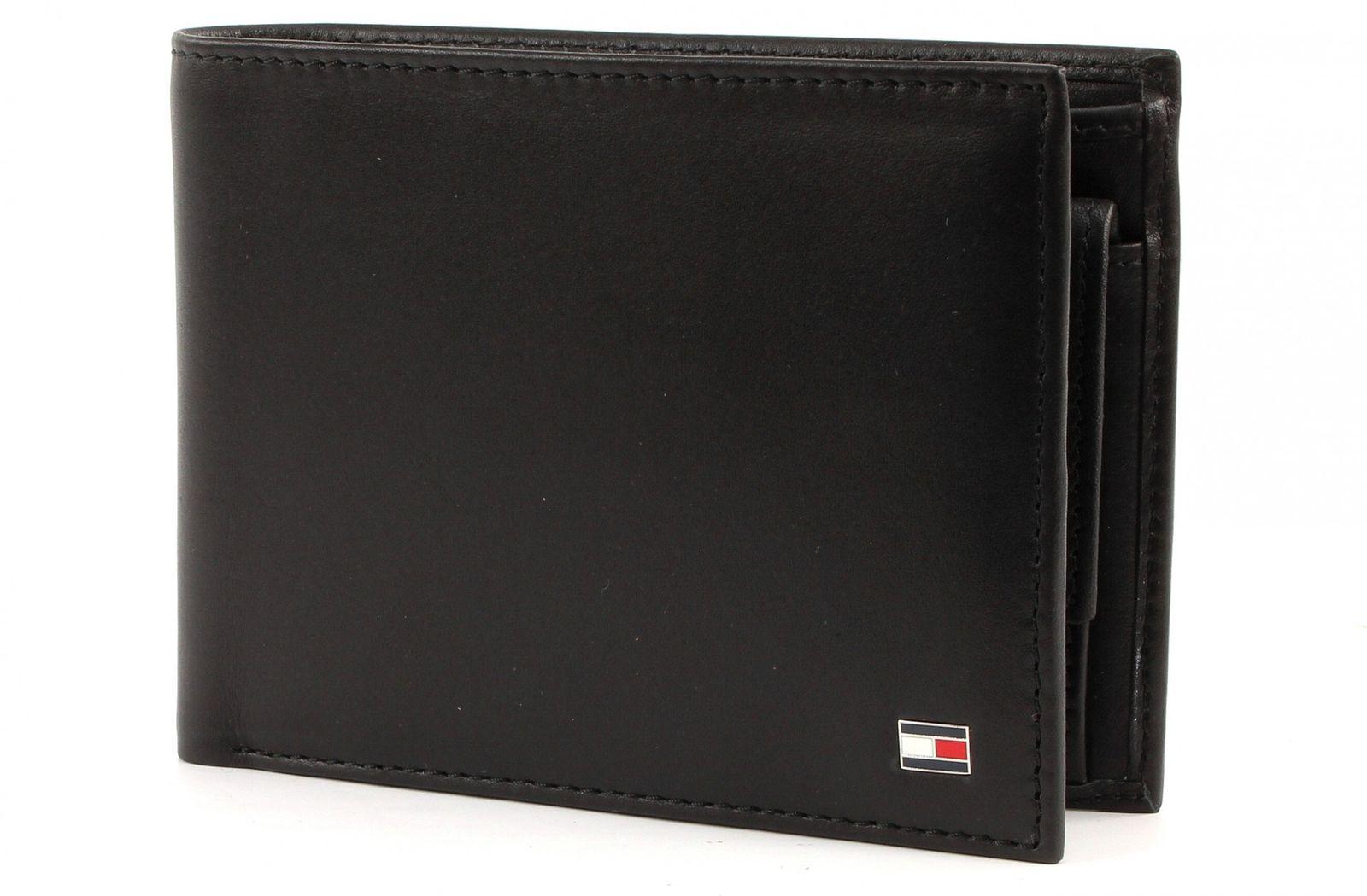 TOMMY HILFIGER Eton CC and Coin Pocket Black