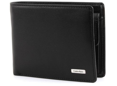 Calvin Klein Rail Billfold 5 CC+Coin 2 Black