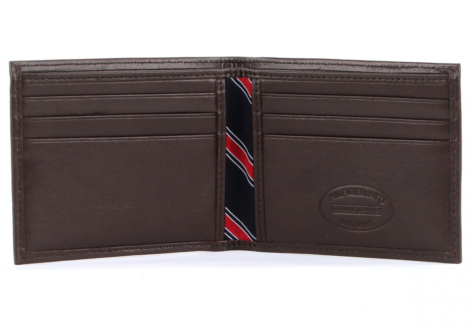 tommy hilfiger purse eton mini cc wallet brown. Black Bedroom Furniture Sets. Home Design Ideas
