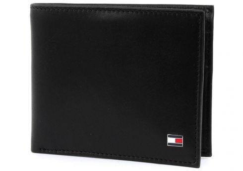 TOMMY HILFIGER Eton Mini CC Wallet Black