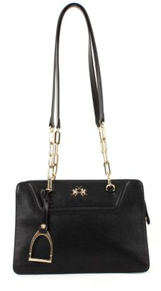 LA MARTINA New Rodriquez Shoulder Bag Black