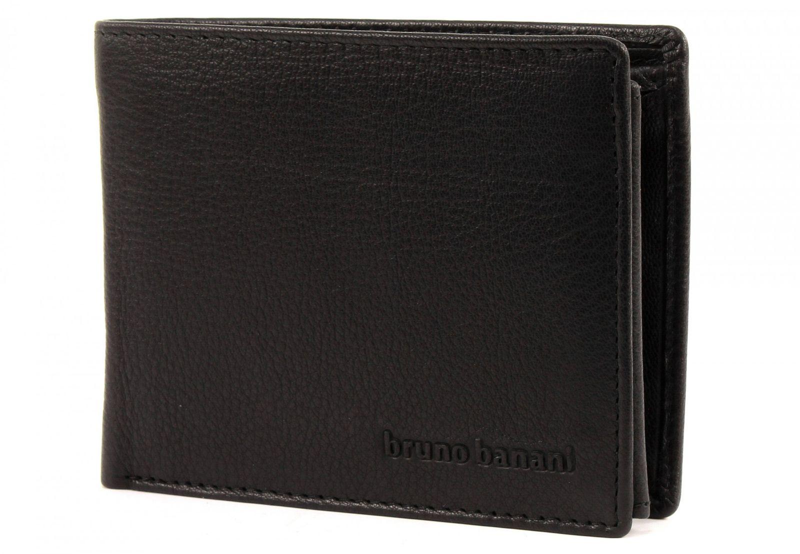 bruno banani Geschenkset 2tlg. Geldbörse und Schlüsselanhänger Black