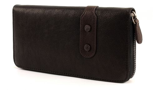 FREDsBRUDER Star Leather Wallet Haze Black