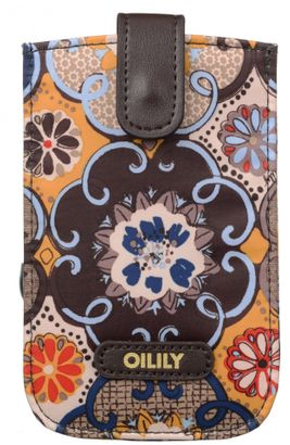 Oilily Abbey Tiles Smartphone Pull Case Mustard