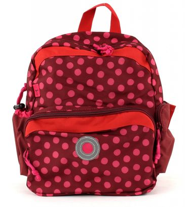Lässig 4Kids Mini Backpack M Dottie Red
