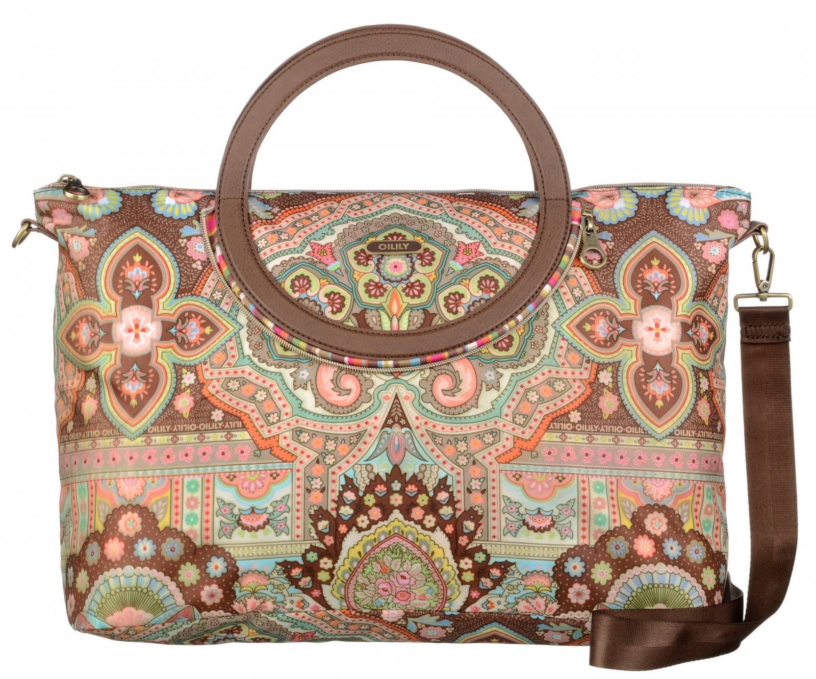 Oilily Folding City Carry All Cappuccino