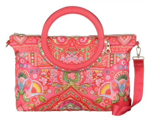 Oilily Folding City Handbag Raspberry