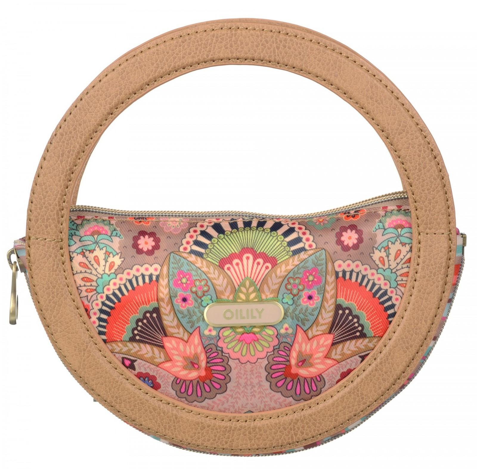 Oilily Folding City Handbag Biscuit