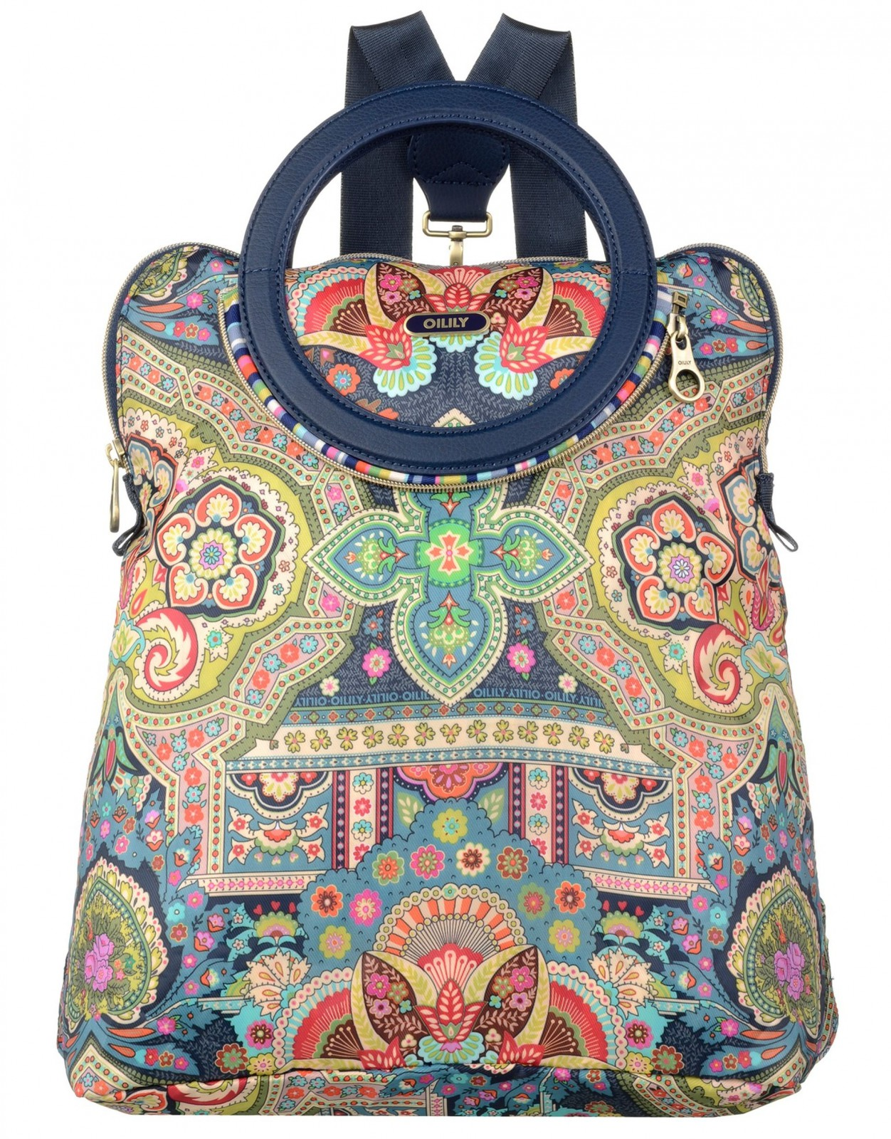 Oilily Folding City Backpack Biscuit yWqYFTgEB