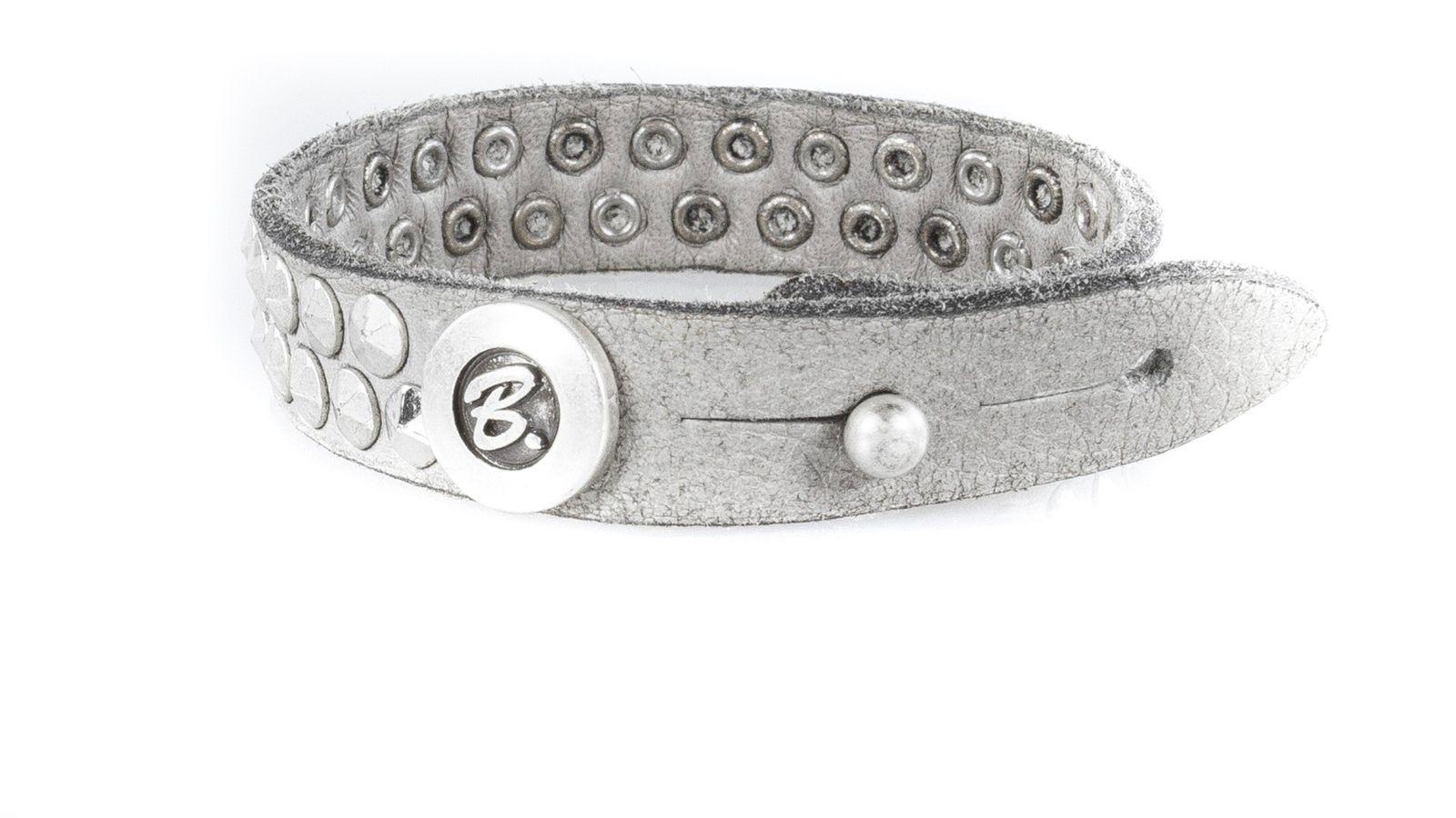 b.belt Armband Hellgrau