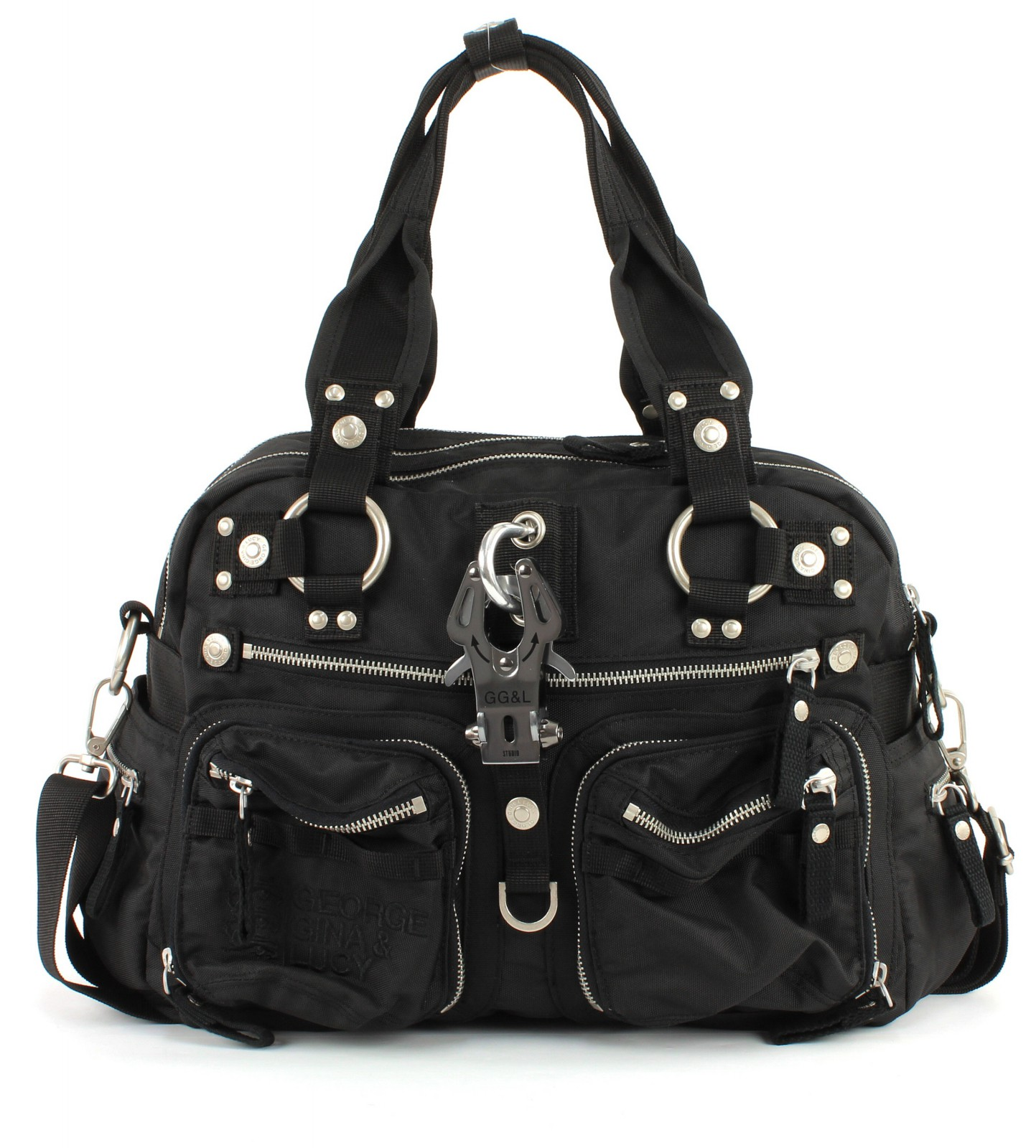 george gina lucy cross body bag nylon double b king kong. Black Bedroom Furniture Sets. Home Design Ideas