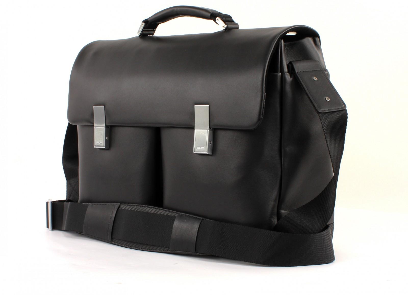 porsche design cross body bag cl2 2 0 briefbag fms black. Black Bedroom Furniture Sets. Home Design Ideas