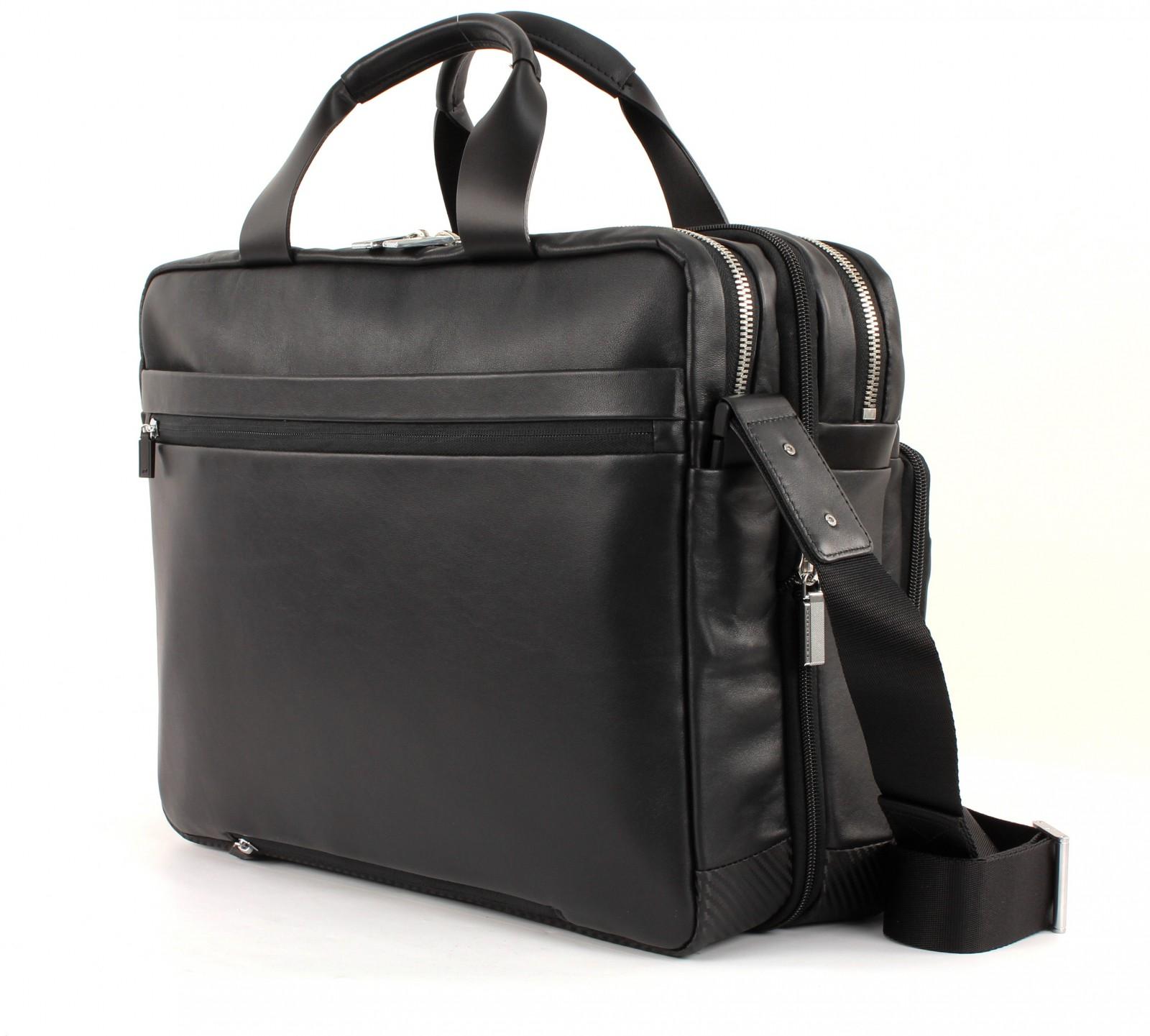 porsche design cl2 2 0 brief bag lhz black. Black Bedroom Furniture Sets. Home Design Ideas