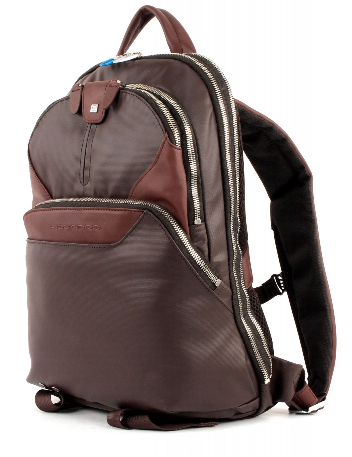 PIQUADRO Coleos Laptop Backpack Testa di Moro