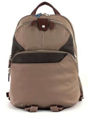 PIQUADRO Coleos Laptop Backpack Tortora