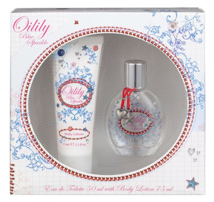 Oilily Blue Sparkle Eau de Toilette 50 ml + Body Lotion 75 ml