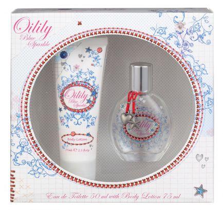 Oilily Blue Sparkle Eau de Toilette 50 ml + Body Lotion 75 ml