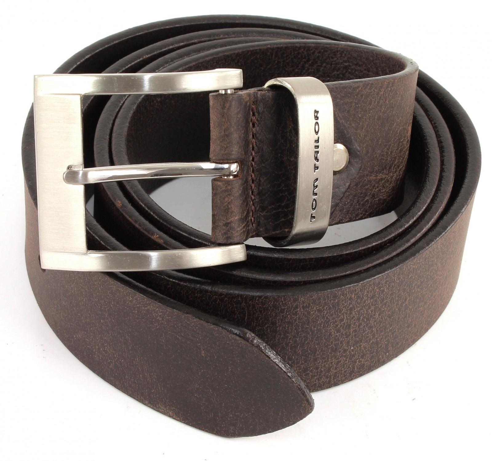 TOM TAILOR Belt TG1165H31 W80 Dark Brown