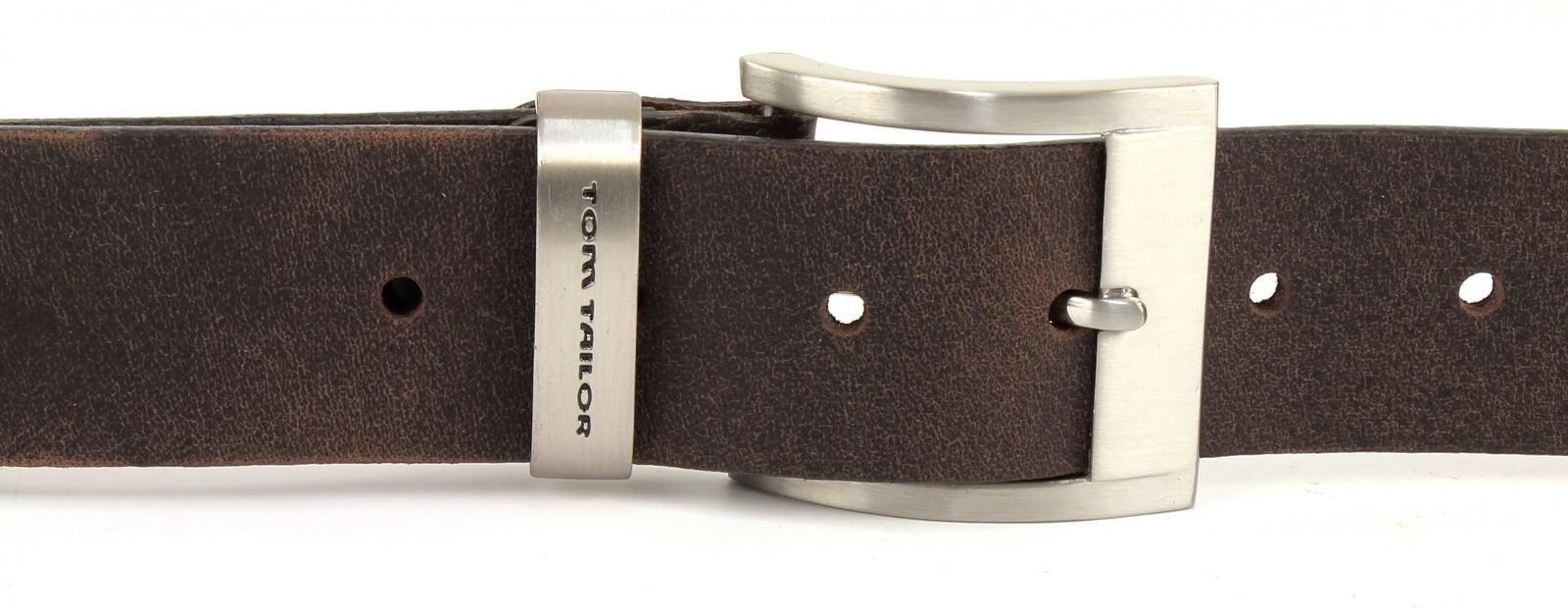 TOM TAILOR Belt TG1165H31 W100 Dark Brown
