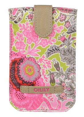 Oilily Botanical Garden Smartphone Pull Case Pink