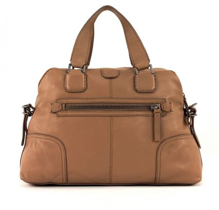 Marc O'PoloGrainy Cow Bowling Bag L Sand