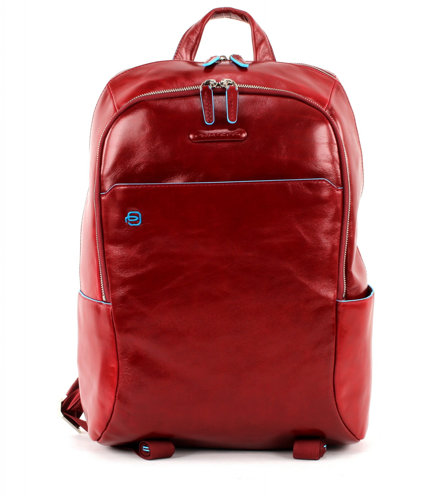 PIQUADRO Blue Square Laptop Backpack Rosso