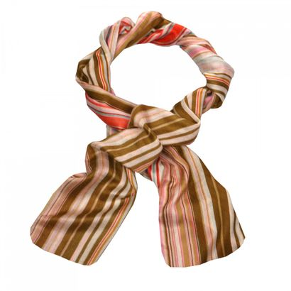 Oilily Multicolor Stripe Shawl Sand