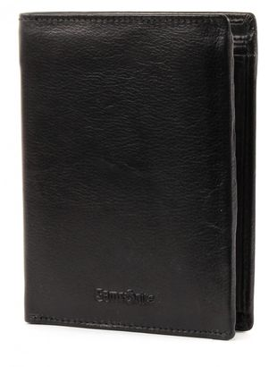Samsonite Attack Coin Wallet with Flap Black