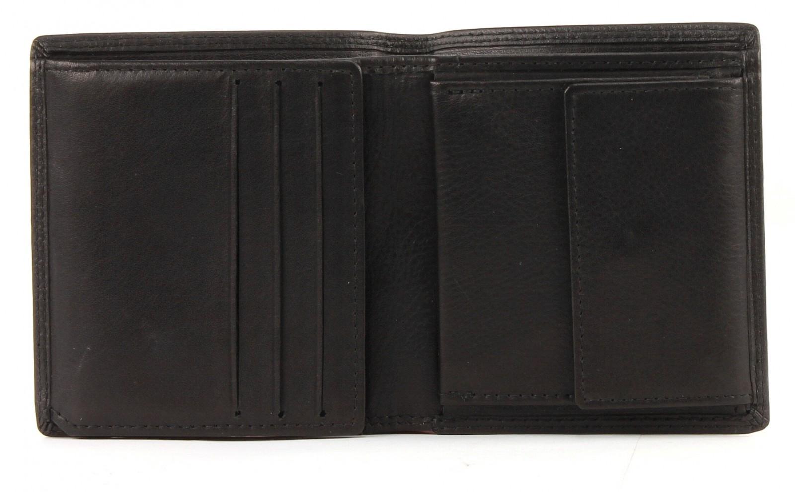 Samsonite Attack Quadrat Wallet with Flap Black