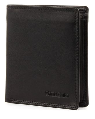 Samsonite Attack Quadrat Wallet with Flap Black