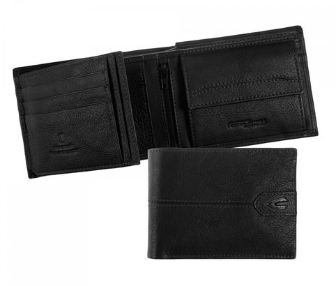 Camel Active Sheffield Wallet Quer Black
