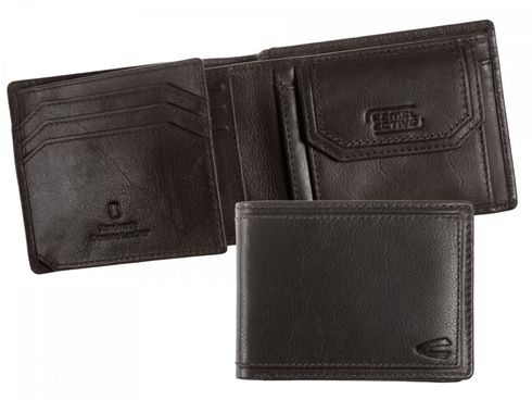 Camel Active Arizona Small Wallet Quer Black