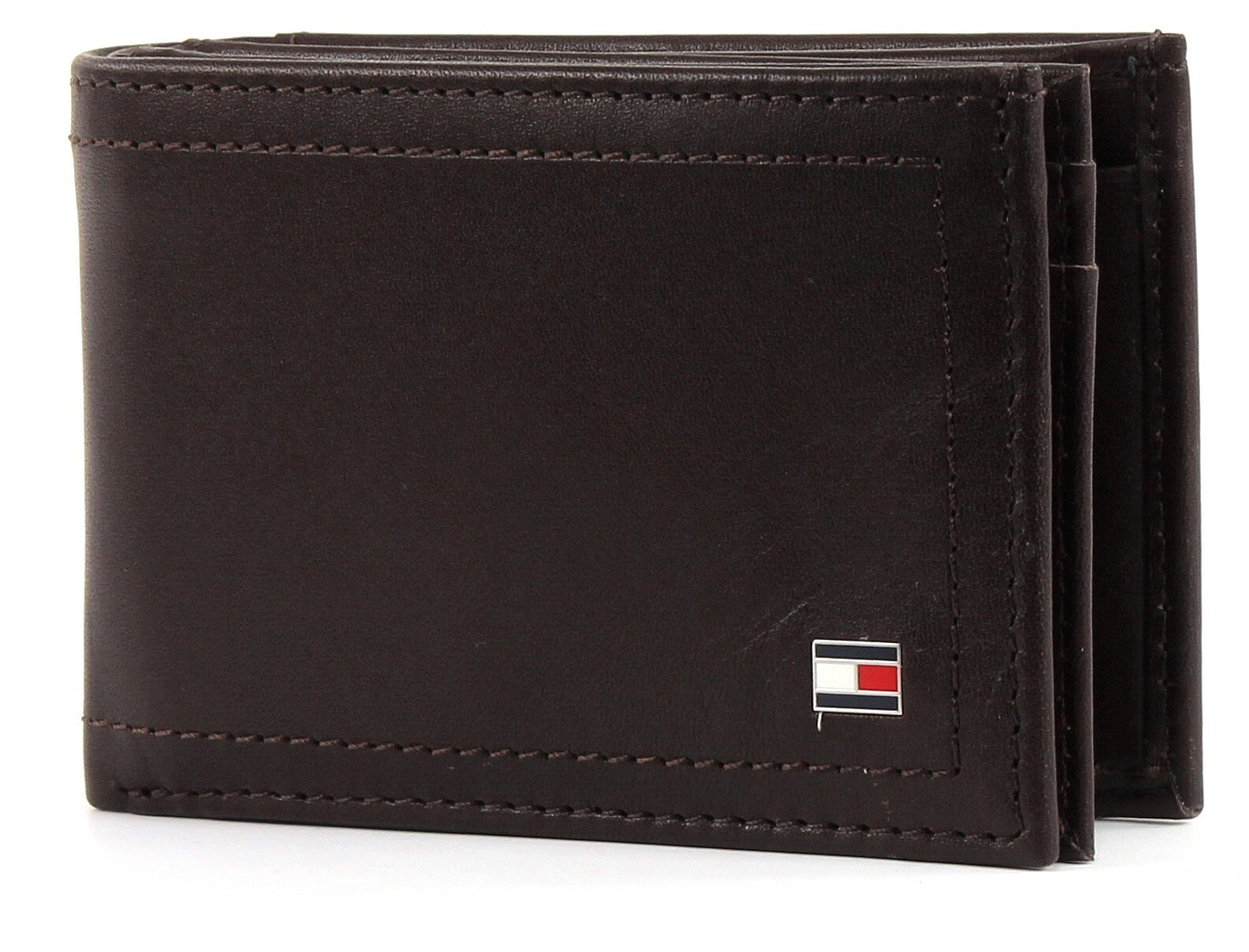 Tommy Hilfiger Mens Harry Cc AND Coin Pocket Purse (Coffee Bean) Cheap Sale Hot Sale zDJMOniW