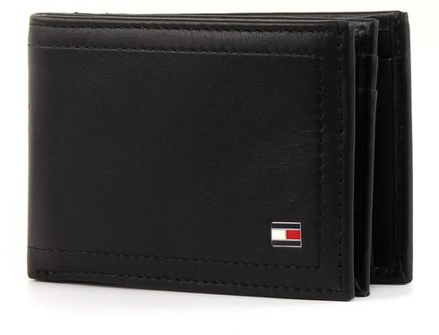 TOMMY HILFIGER Harry Mini CC Flap and Coin Pocket Black