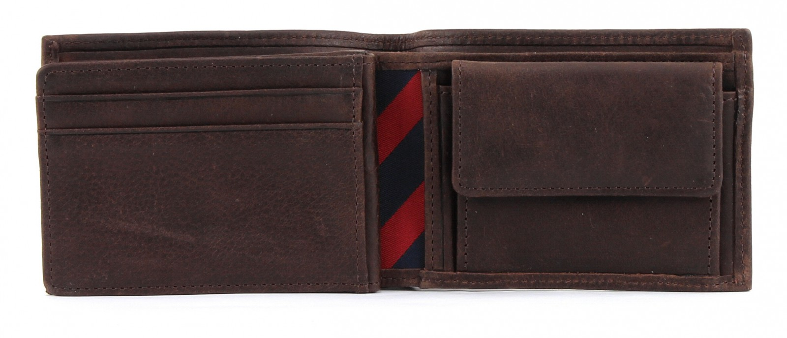 TOMMY HILFIGER Johnson Mini CC Flap and Coin Pocket Brown