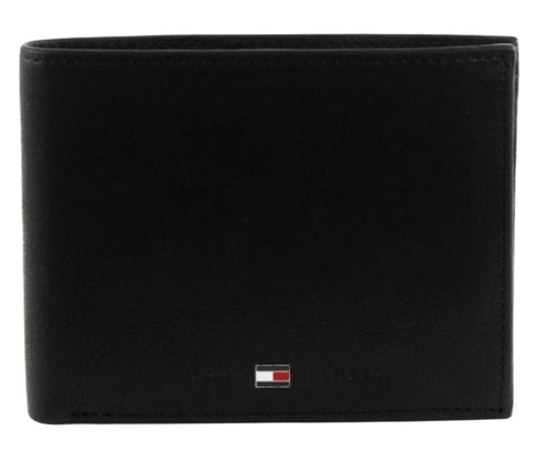 TOMMY HILFIGER Johnson Trifold Wallet Black
