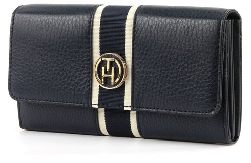TOMMY HILFIGER Claire Large E/W Wallet Midnight
