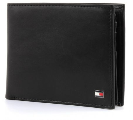 TOMMY HILFIGER Eton CC Flap and Coin Pocket Black
