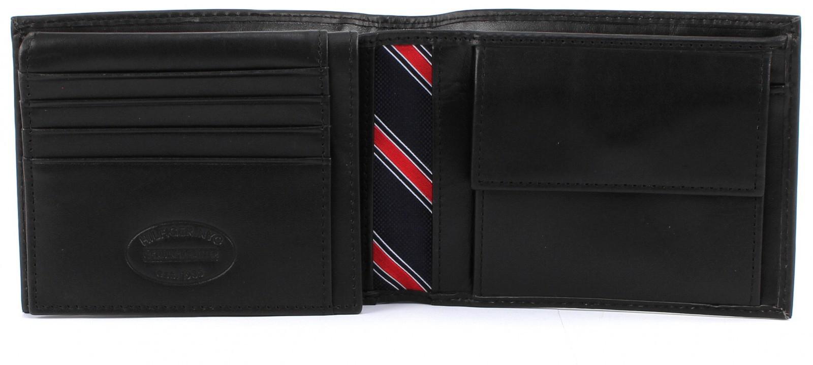 TOMMY HILFIGER Eton CC Flap and Coin Pocket Black