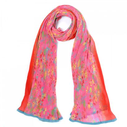 Oilily Flowerfield Shawl Red