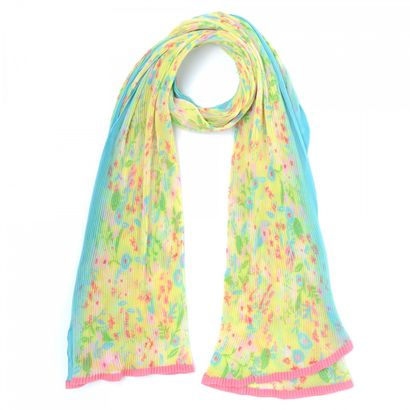 Oilily Flowerfield Shawl Lemon